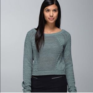 Lululemon Be Present Pullover Sweater Deep Shore